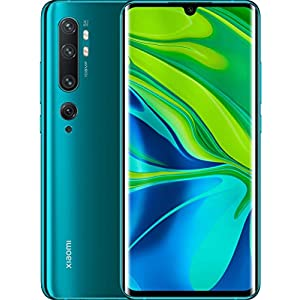 "Xiaomi Mi Note 10 Smartphone, 6 GB RAM + 128 GB ROM, Schermo 3D Curved Amoled 6.47"" FHD+, Penta Camera 108 MP, 5260 mAh, Midnight Black 12 spesavip"