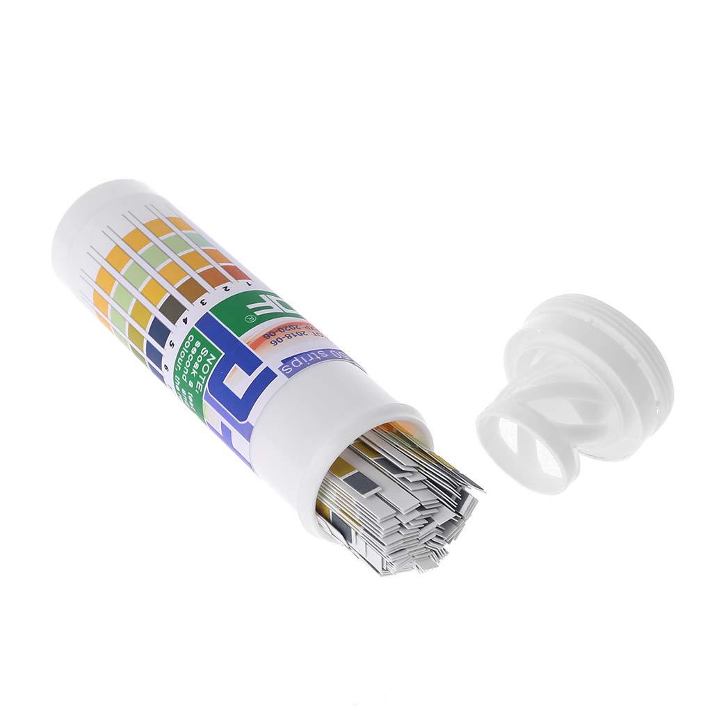 WEISHAZI 150 Strips Bottled PH 1-14 Test Strip Urine Saliva PH Acidic Alkaline Indicator