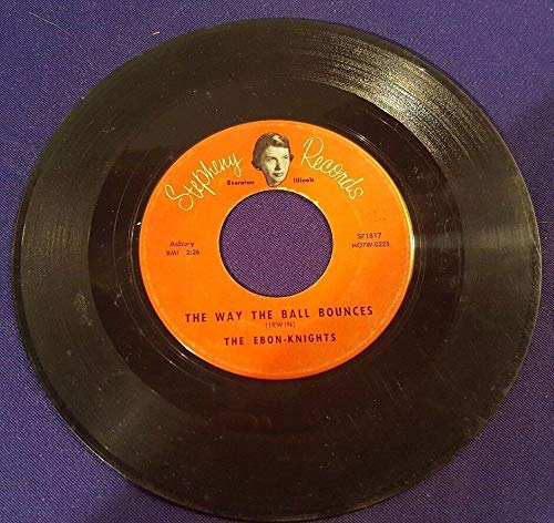 (The EBON-KNIGHTS Poor Butterfly/Way the Ball Bounces 45 Record STEPHENY Records)