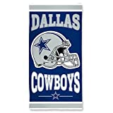 "NFL Dallas Cowboys A1874215 Fiber Beach Towel, 9 lb/30"" x 60"""