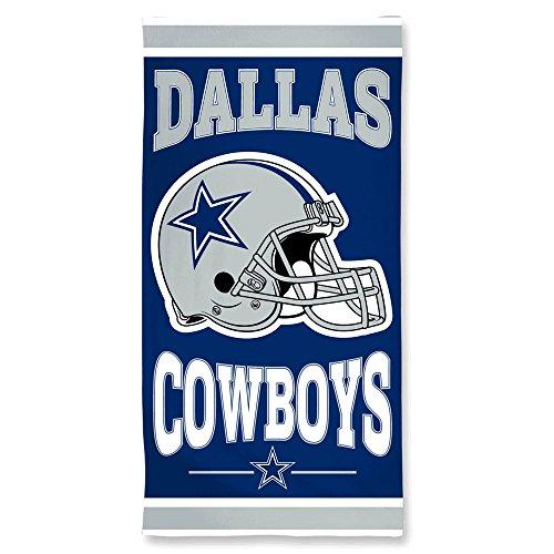 WinCraft NFL Dallas Cowboys A1874215 Fiber Beach Towel, 9 lb/30
