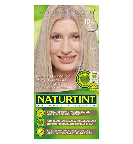 Naturtint Hair Color Permanent, 10A Light Ash Blonde, 5.28 Ounce