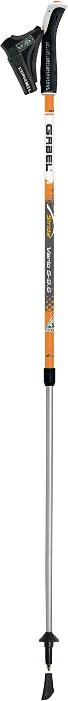Gabel Vario S-9.6 Orange, Bastones de Nordic Walking Unisex - Adulto, Naranja, 77-130 cm