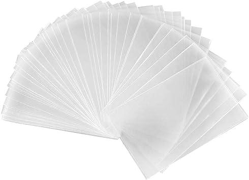 Mona43Henry Fundas De Cartas De Juegos, Magic Transparent Poker Cards Protector Protector De Tarjetas De Juego De Mesa, 100 PCS: Amazon.es: Deportes y aire libre