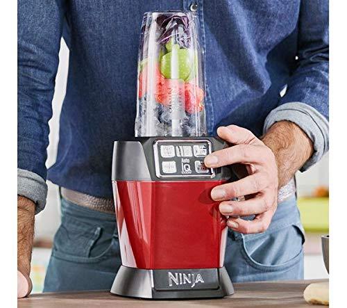 Nutri Ninja Auto-IQ Blender, 1000W, 1 Jar (Red) 5