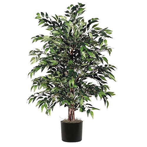 (Vickerman TBU1440-06 Everyday Smilax Bush, Green Dark, 4')