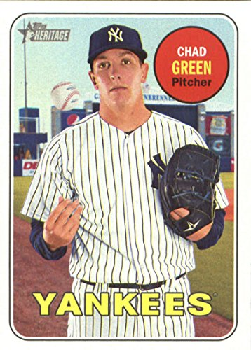 2018 Topps Heritage #316 Chad Green New York Yankees Baseball Card