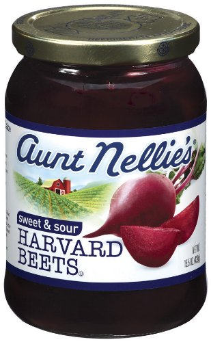 Aunt Nellie's Harvard Beets, 16-Ounce Jars (Pack of 12) by Aunt Nellie's