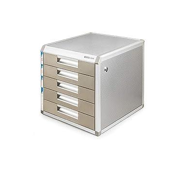 Archivador con cajón, archivador de escritorio, cajón de mesa de 4 ...