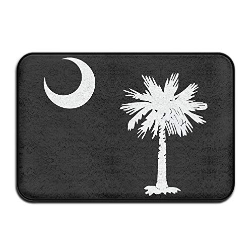 Super Soft Kitchen Mat South Carolina State Flag Welcome Floor Mats