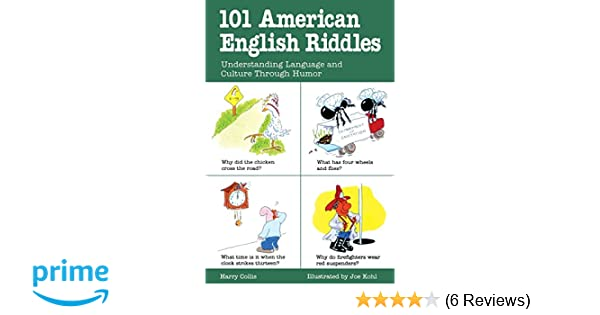 Amazon com: 101 American English Riddles : Understanding