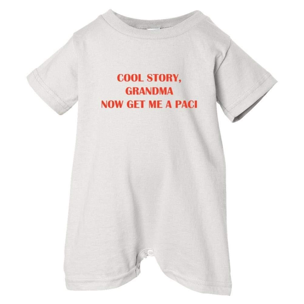 So Relative Unisex Baby Cool Story Grandma Get Paci T-Shirt Romper