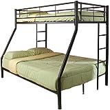 Coaster Twin/Full Bunk Bed, Black