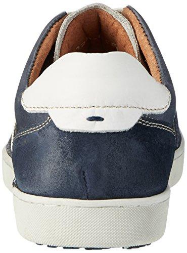 AUSTRALIAN Cavani Leather, Scarpe Basse Uomo Blau (Mid Blue-white)