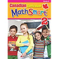 Canadian Curriculum MathSmart 2: A concise Grade 2 math workbook packed with practice, explanations, and tips