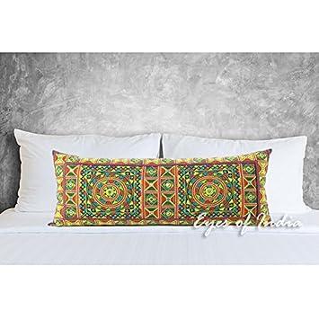 Amazon.com: Eyes of India - Funda de cojín con bordado ...