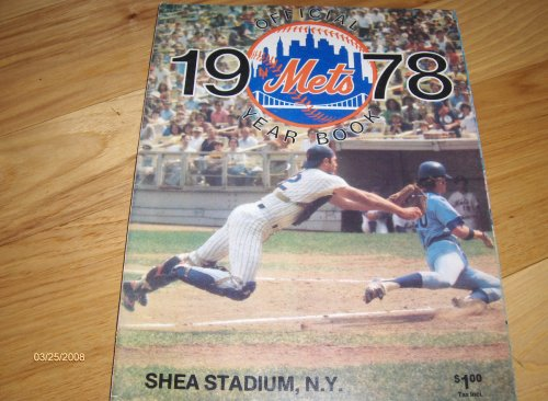 1978 New York Mets Official Yearbook Magazine