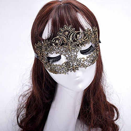 Tuscom Sexy Lace Appeal Fox Mask Princess Eye Mask,for Nightclub Bar Halloween Masquerade (3 Style 9.84.33