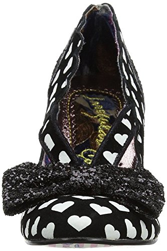 Irregular Choice Stage Left Noir Blanc Femmes Talons