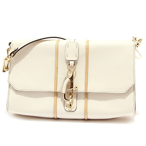 Tracollina Fay Borsetta Borsa Donna Bag Leather 0748r Pochette Avorio Genuine Women qEptT