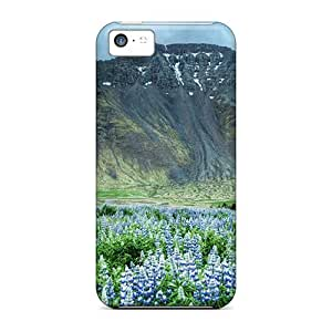 Iphone 5c Case Cover Nature Mountains High Mountain Case - Eco-friendly Packaging