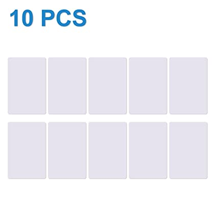 TimesKey 10 NFC Tarjeta ISO PVC Card NXP Ntag215 NFC Tag, Etiquetas NFC,Memoria de 504 Bytes, Trabajo con Amiibo Tagmo