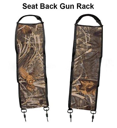 Deli Back Seat Gun Rack with Holding 3 Guns- Rifle Gun Sling for Most SUVs Pickup Trucks Rifle Shotgun Vehicle