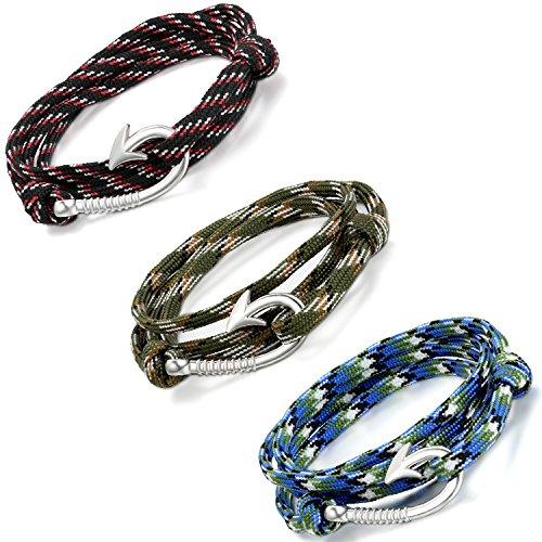 Aroncent Nautical Bracelets Women Nylon