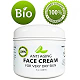 Antiwrinkle Cream for Men Best Anti Aging Face Cream for Men and Women - Anti Wrinkle Eye Cream - Daily Moisturizer Cream for Dry and Oily Skin - Skin Tightening Treatment - Natural Unscented Lotion - Collagen Beauty Cream