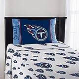 """NFL Tennessee Titans """"Mascot"""" Twin Sheet Set"""