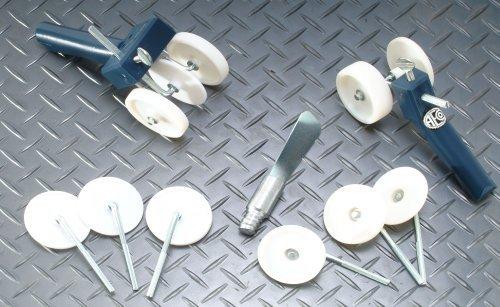 Backer Rod Insertion Tool Albion 640-3 Set of Standard and Corner Model Backer Rod Insertion Tools