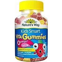 【跨境自营】Kids Smart 佳思敏 儿童鱼油软糖 (适合2岁以上儿童)60粒(澳洲品牌 保税区发货)包税