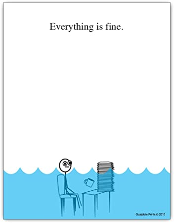 Everything Is (NOT) Fine Notepad