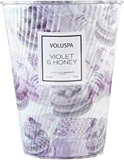 product image for Voluspa Violet and Honey 2 Wick Tin Table Candle, 26 Ounces