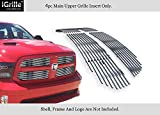 2015 ram grill - APS Fits 2013-2018 Ram 1500 Stainless Steel Billet Grille Grill Inserts #D65919C