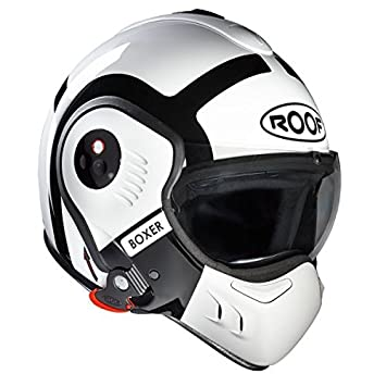 Casco Roof Boxer V8 Bond – XS – blanco – blanco