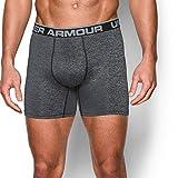 Under Armour Men's Original Series Twist Boxerjock, Steel/Steel, Large
