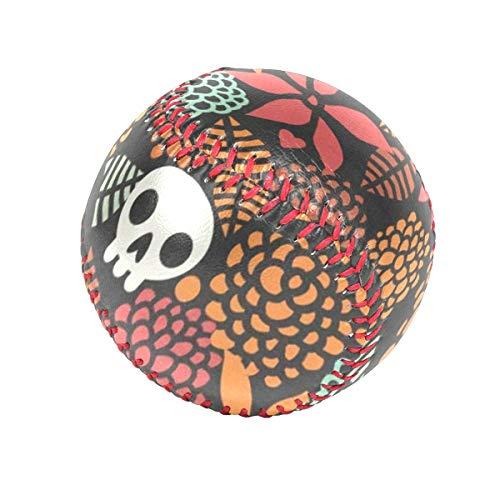 DERTYV Precision Impact's Flex-Balls Halloween Skull Safety Tee Balls Indoor Baseball or Outdoor Baseballs for Kids ()