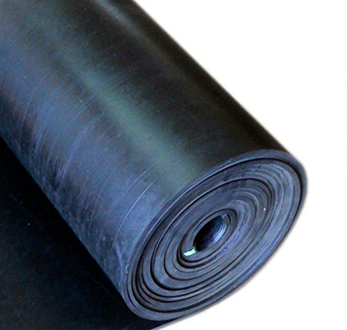 Buna-N/Nitrile 1/16'' x 36'' x 50' 40 durometer rubber roll by Thermodyn