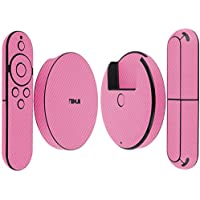 Skinomi TechSkin - Google Nexus Player Pink Carbon Fiber Full Body Skin Protector / Front & Back Wrap / Premium HD Clear Film / Ultra Invisible and Anti-Bubble Shield