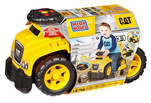 51k2dRV1PWL - Mega Bloks Ride On Caterpillar with Excavator