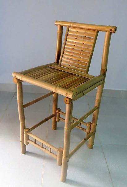 amazon com master garden products thb 30 bamboo tiki bar stool
