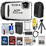 Fujifilm FinePix XP130 Shock & Waterproof Wi-Fi Digital Camera (White) with...