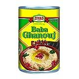 Ziyad Baba Ghanoug Eggplant Dip 13 OZ, (Pack 1)
