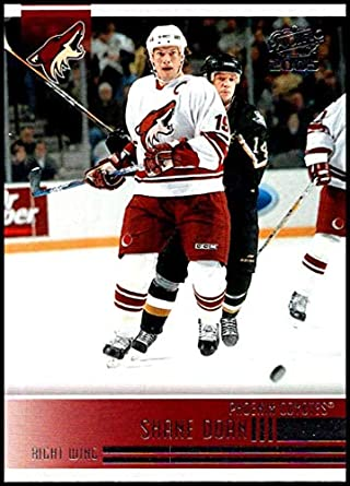 8ed6f196d 2004-05 Pacific  201 Shane Doan Phoenix Coyotes Official NHL Hockey Trading  Card