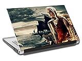 Game Of Thrones Khaleesi Personalized LAPTOP Skin Decal Vinyl Sticker NAME L749, 15.6''