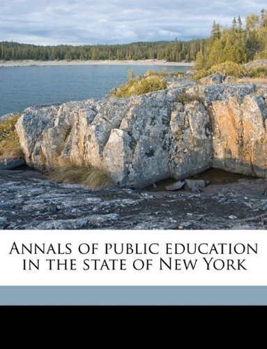 Download Annals of public education in the state of New York pdf epub