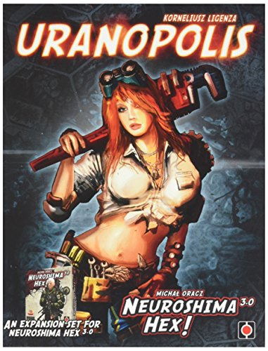 Neuroshima Hex: Uranopolis Board Game
