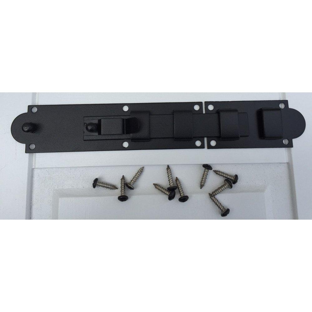 12'' Stainless Steel Locking Slide Bolt for functional shutter hardware