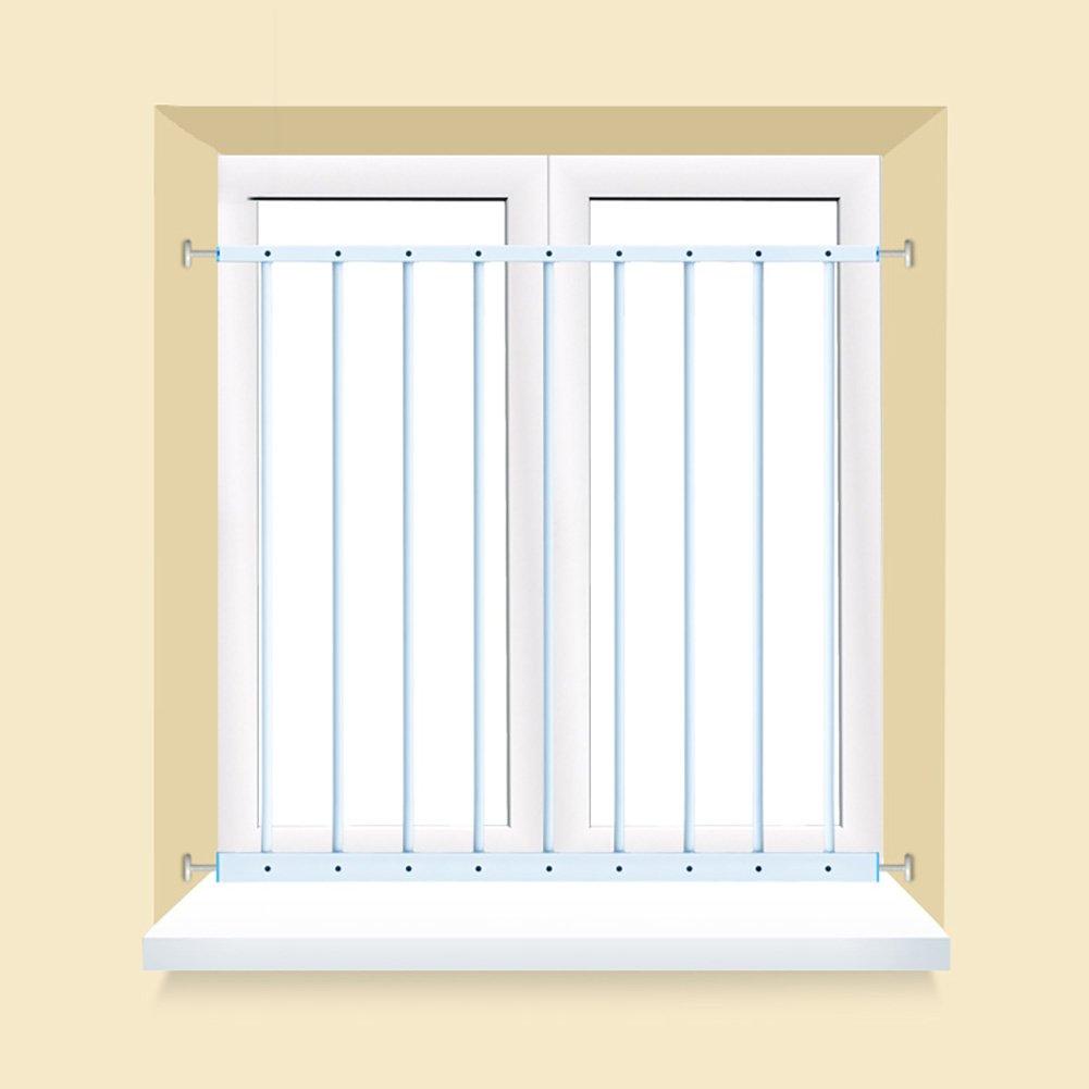ベイウィンドウガードレールバルコニー手すり子供用フェンス窓高層防護ネットドア窓フェンスフリーパンチング   B07CW6KJN3